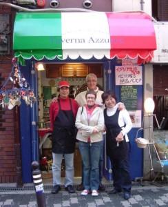 2009年10月在大阪イタリア領事夫妻来店